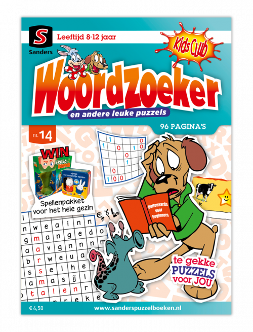 Kidsclub Woordzoeker 14