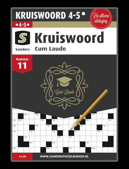 Kruiswoord Cum Laude 11