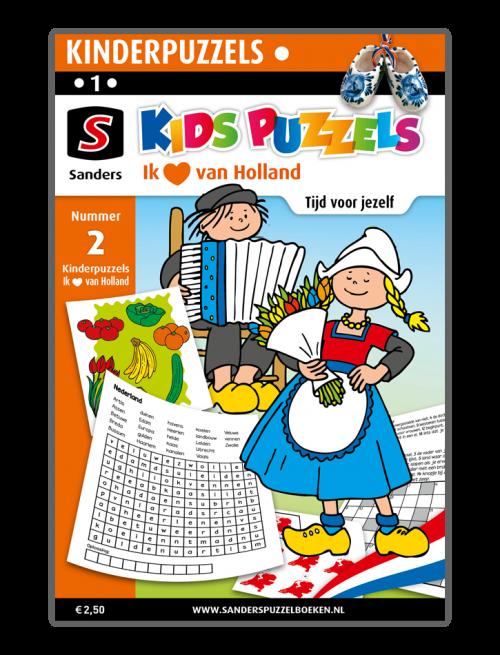 Kids Puzzels Ik hou van Holland 2