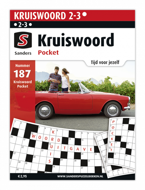 Kruiswoord Pocket 187