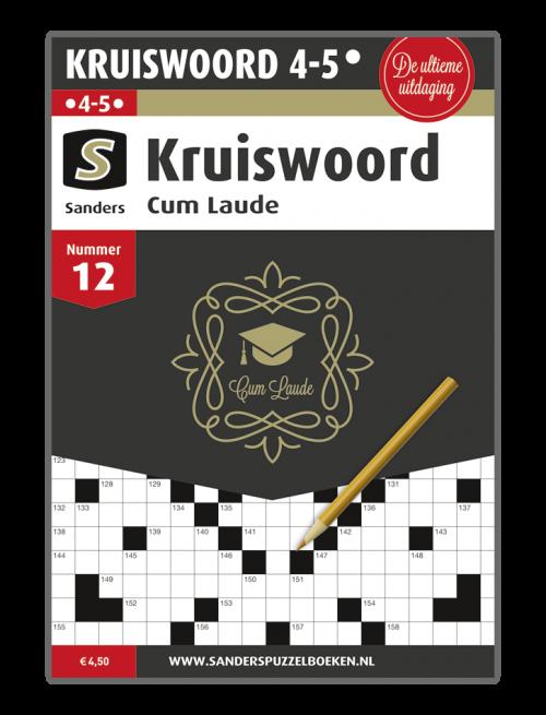Kruiswoord Cum Laude 12