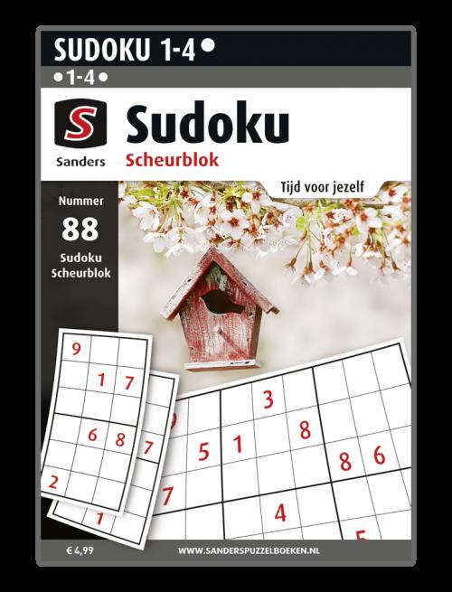 Sudoku Scheurblok 88