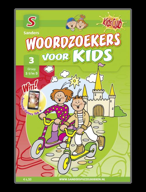 Woordzoekers voor Kids 3