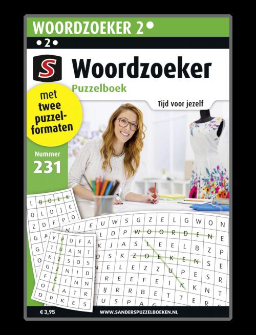 Woordzoeker Puzzelboek 231