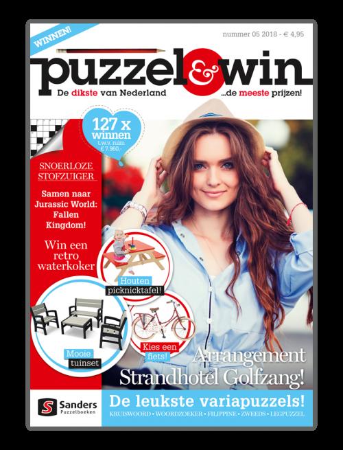 Puzzel & Win 05 2018