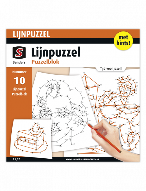 Lijnpuzzel Puzzelblok 10