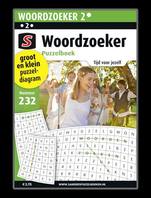 Woordzoeker Puzzelboek 232