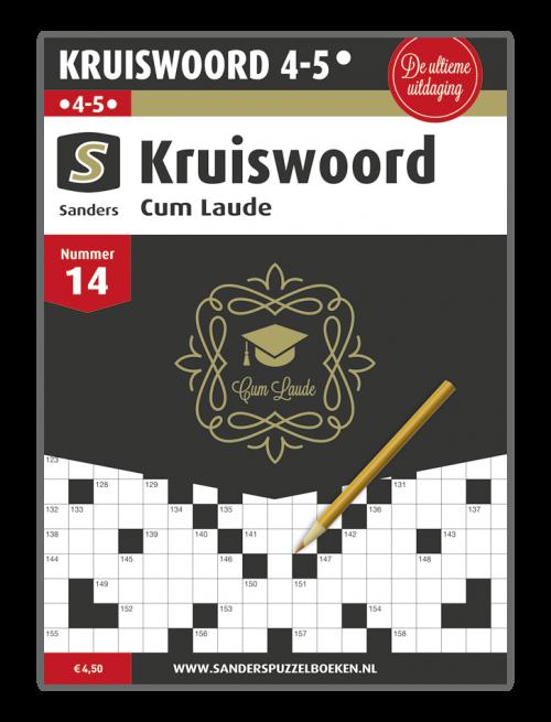 Kruiswoord Cum Laude 14