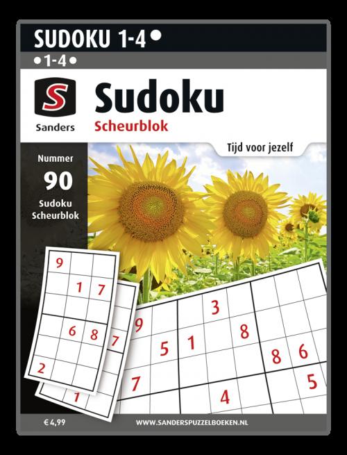 Sudoku Scheurblok 91