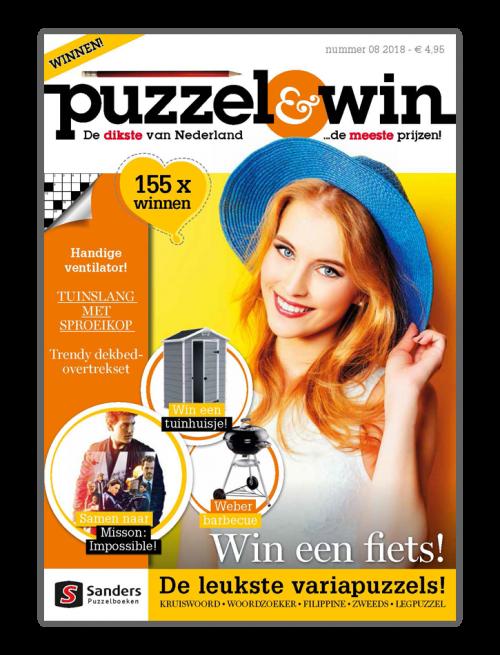 Puzzel & Win 08 2018