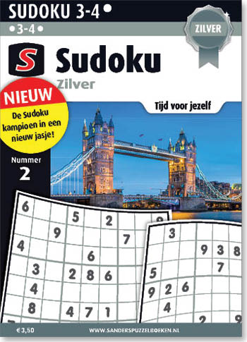 Sudoku Zilver 2