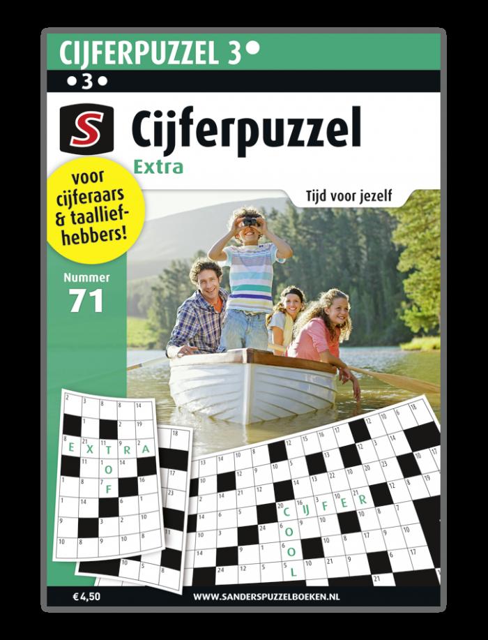 Cijferpuzzel Extra 71