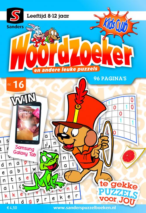 Kidsclub Woordzoeker 16