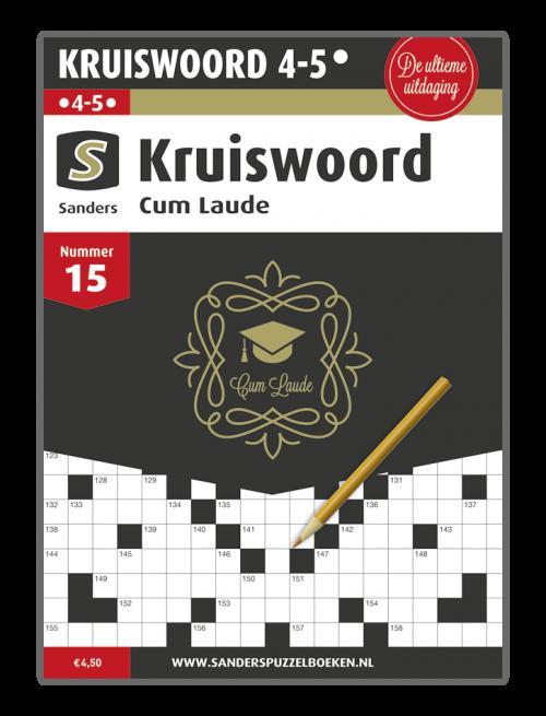Kruiswoord Cum Laude 15