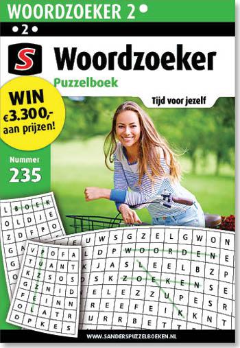 Woordzoeker Puzzelboek 235