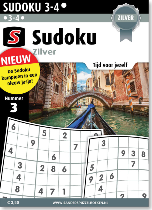 Sudoku Zilver 3