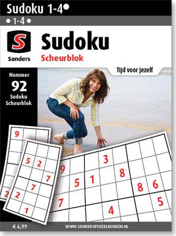 Sudoku Scheurblok 92