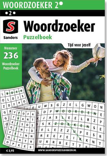 Woordzoeker Puzzelboek 236