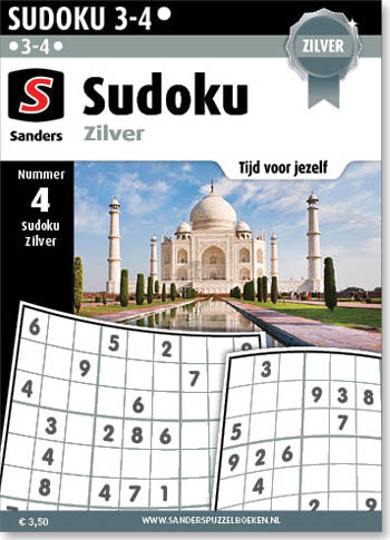 Sudoku Zilver 4