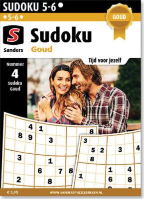 Abonnement Sudoku Goud Sanders Puzzelboeken