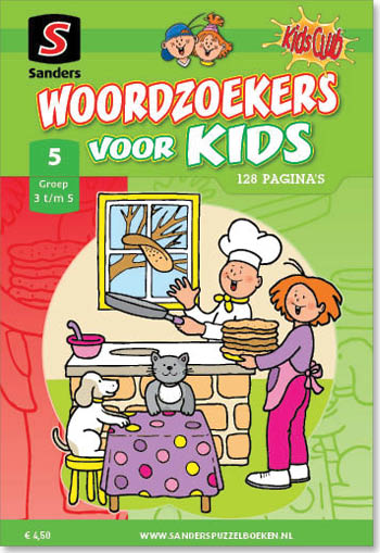 Woordzoekers voor Kids 5