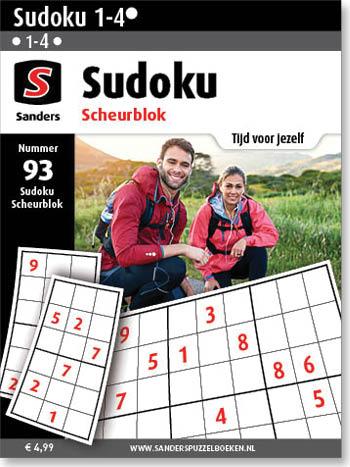 Sudoku Scheurblok 93