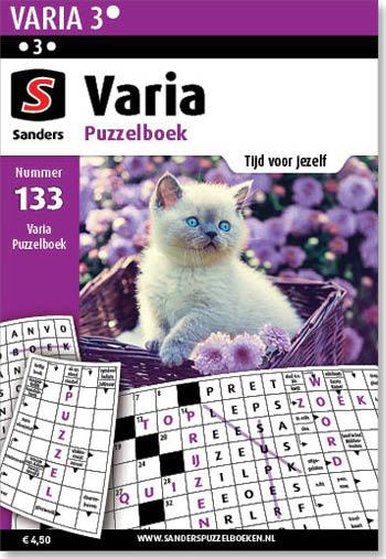 Varia Puzzelboek 133