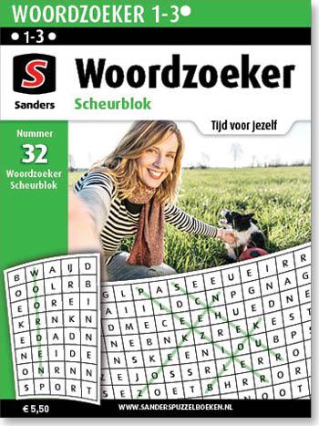 Woordzoeker Scheurblok 32