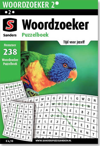 Woordzoeker Puzzelboek 238
