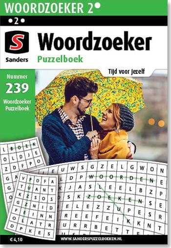 Woordzoeker Puzzelboek 239