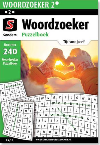 Woordzoeker Puzzelboek 240