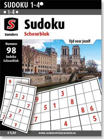Sudoku Scheurblok 98