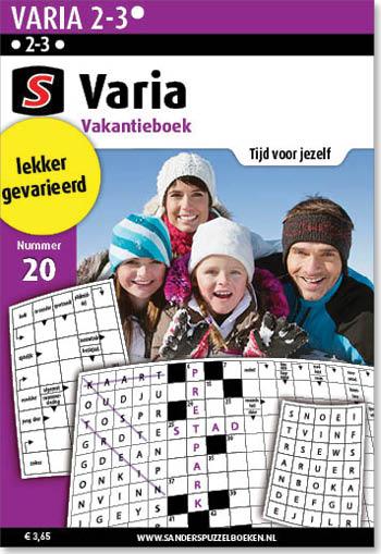 Varia Vakantieboek 20