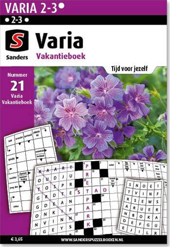Varia Vakantieboek 21