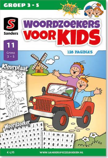 Kidsclub Woordzoeker voor Kids